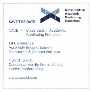 Invitation/Call for Ideas: CACE Assembly Beyond Borders   October 1-2, 2021