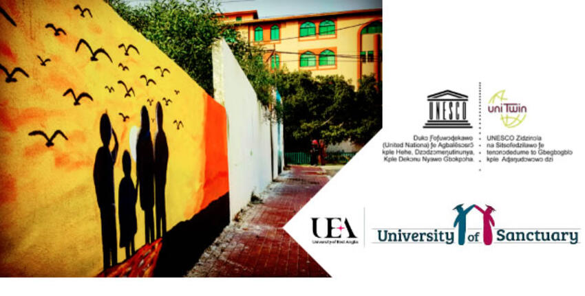 UEA UNESCO Chair webinar series | Language Sanctuaries : Why language is integral to the arts of integration, Glasgow 27 April