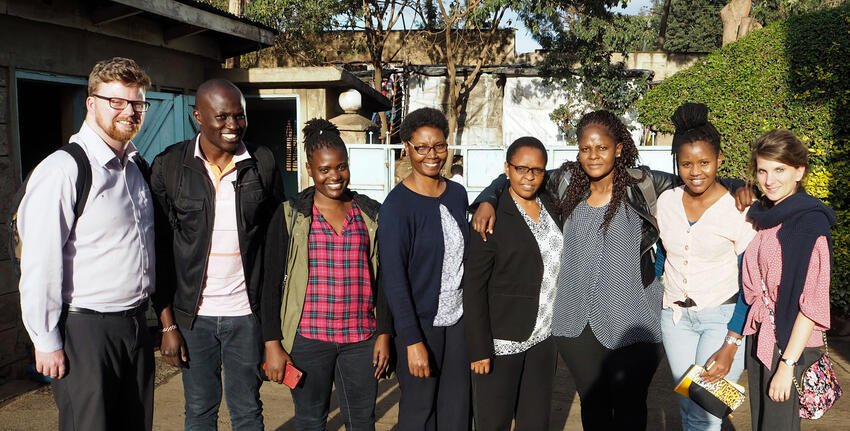 University of Glasgow collaborates with School of Education PhD students in SFC-funded gender equality project in Africa