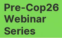 Pre-COP26 Webinar: Higher Education, Knowledge Democracy and Sustainability - October 11, 2021 1500