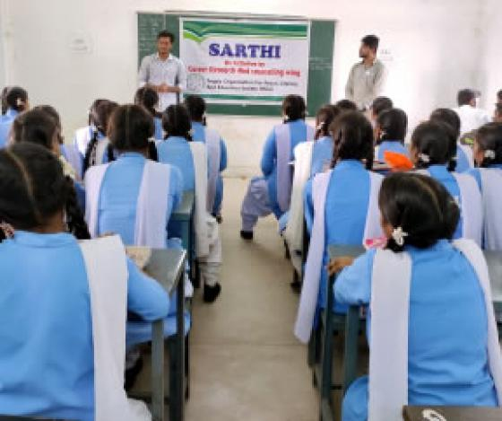 CRCW (Career Research and Counselling Wing), aims at providing free career counselling