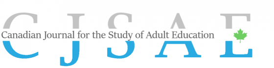 Canadian Journal for the Study of Adult Education (CJSAE)