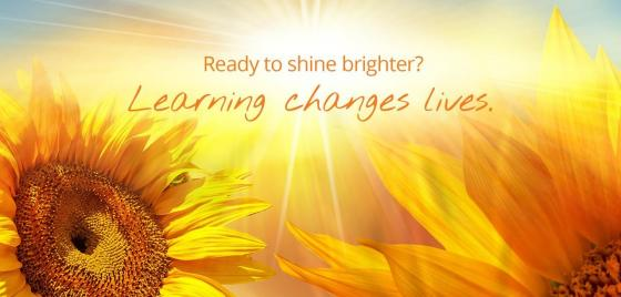 Learning changes lives'